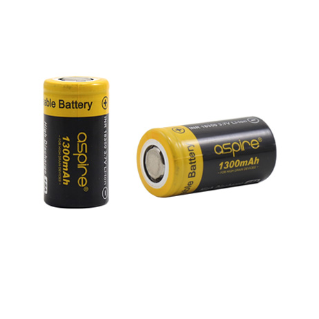 Aspire 18350 Battery 1300mah (15A)